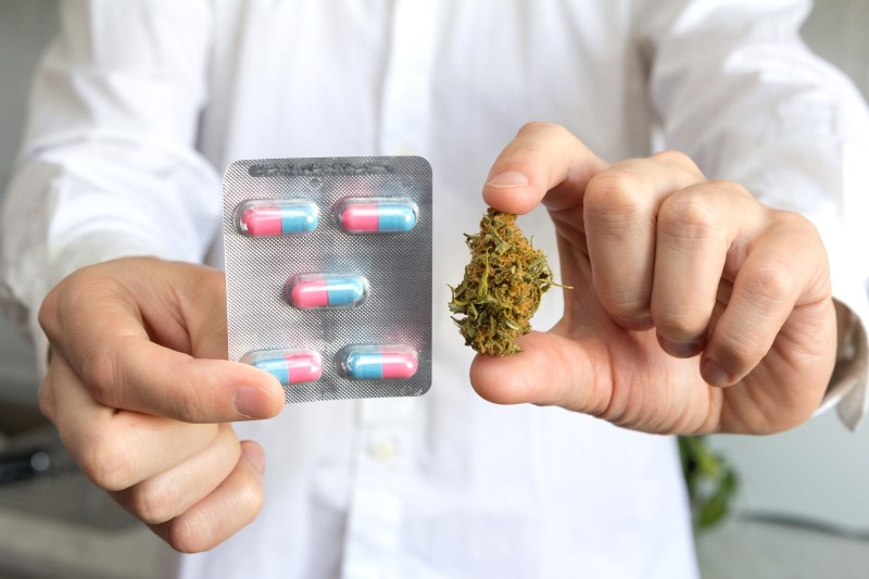72720186-Sergiy-Gaydaenko-Dreamstime-INP-Instituut-voor-Neuropathische-Pijn opiaten cannabis