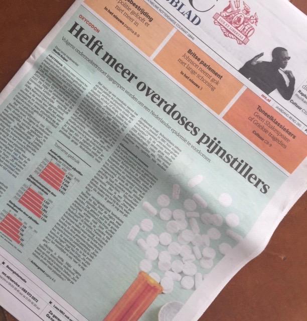 Alarmbel luidt over gebruik zware pijnstillers! INP